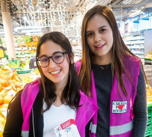 Surval News: Charity volunteering for Cartons du Coeur